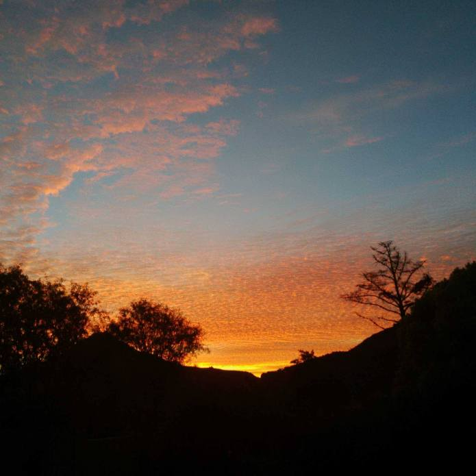 Sunset in Hout Bay, Cape Town