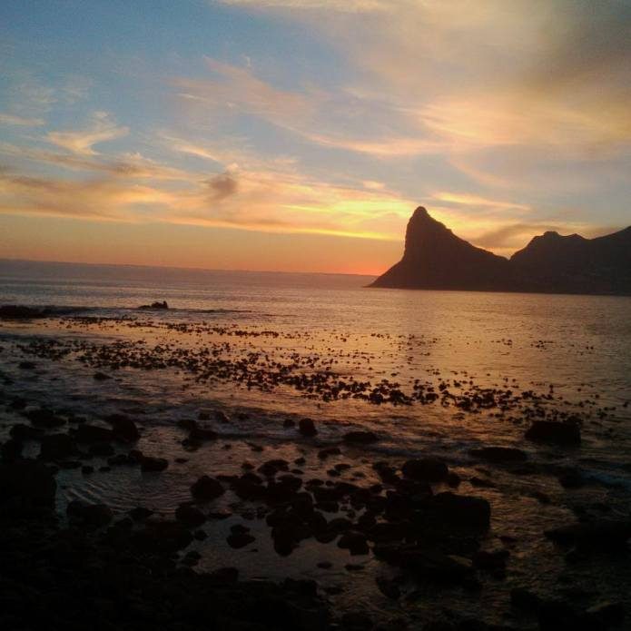 Sunset from Tintswalo Atlantic